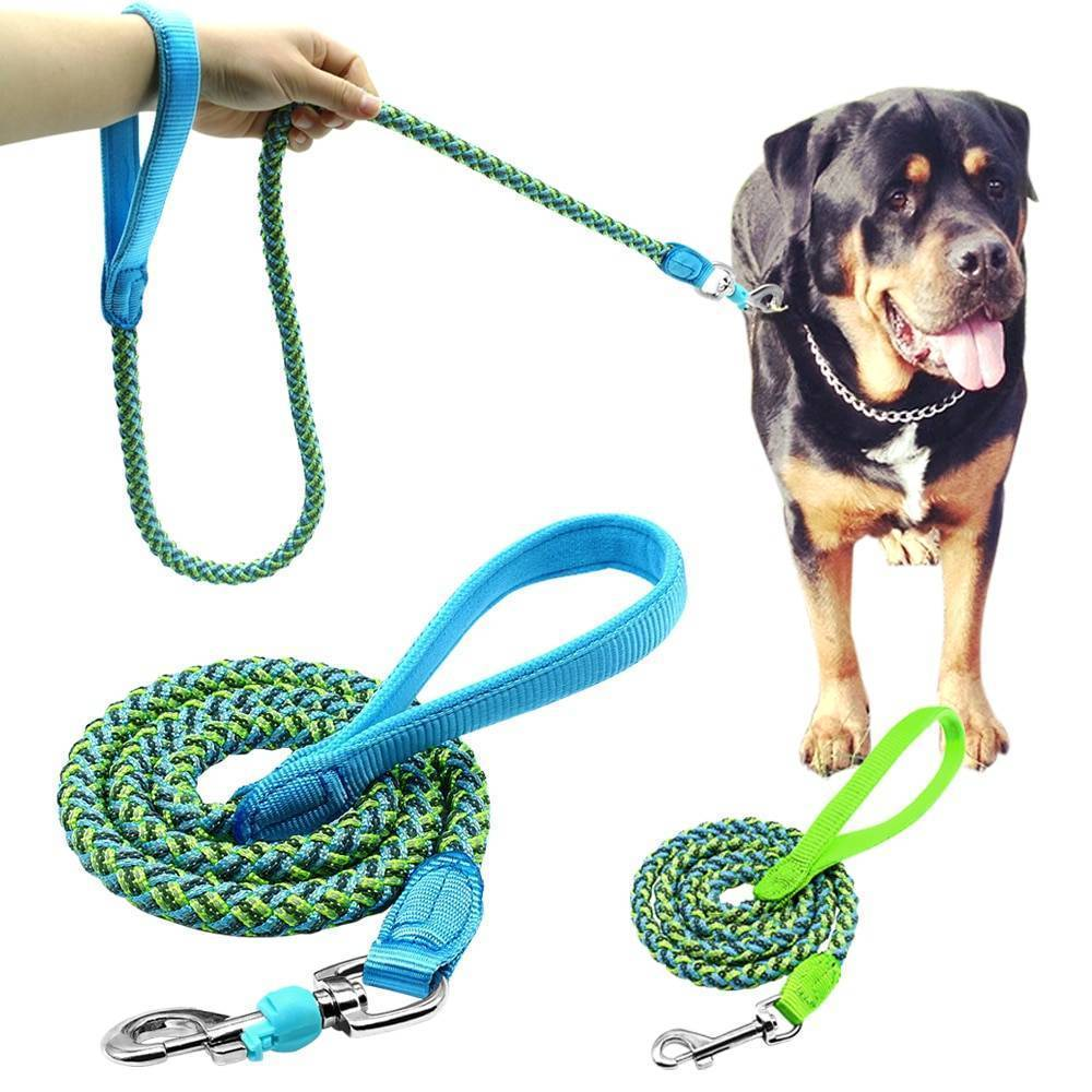 Поводок-рулетка для собак для выгула крупных пород
