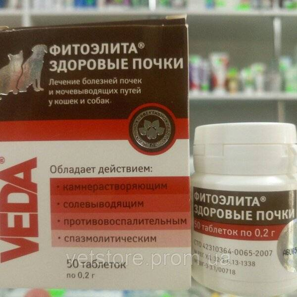 «здоровые почки» для кошек (фитоэлита): инструкция по применению, отзывы, аналоги