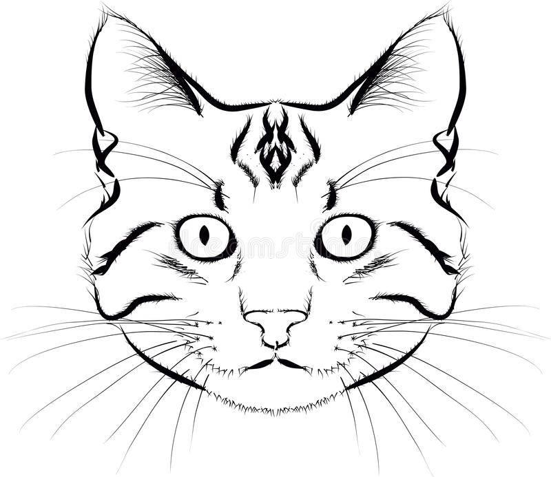Как нарисовать кошку для детей: 21 поэтапный пример