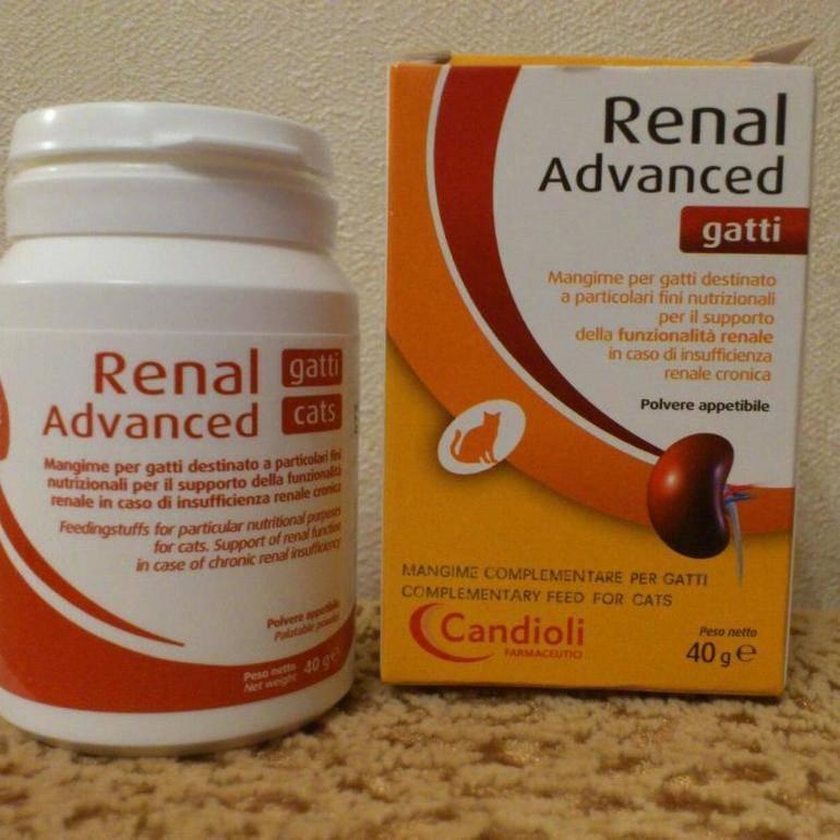 Ренал адванс для облегчения состояния при хронической почечной недостаточности