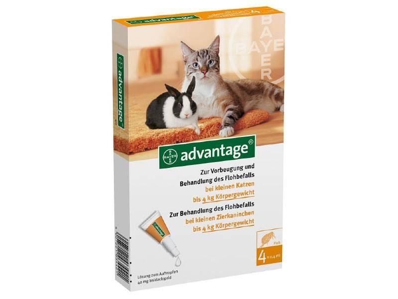 «адвантейдж» для кошек: инструкция по применению