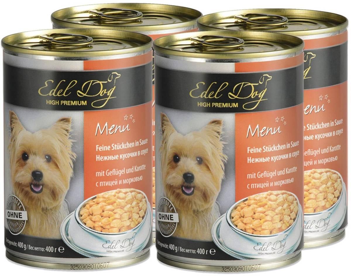 12 лучших влажных кормов для собак