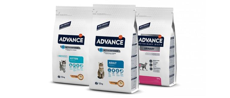 Корм адванс (advance) для кошек | цена, отзывы ветеринаров, состав