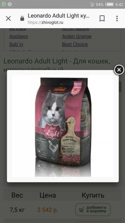 Leonardo adult cat lamb - рейтинг, обзор корма, сравнение и анализ leonardo adult cat lamb, состав и описание корма, плюсы и минусы leonardo adult cat lamb, отзывы о корме, характеристика и дозировка