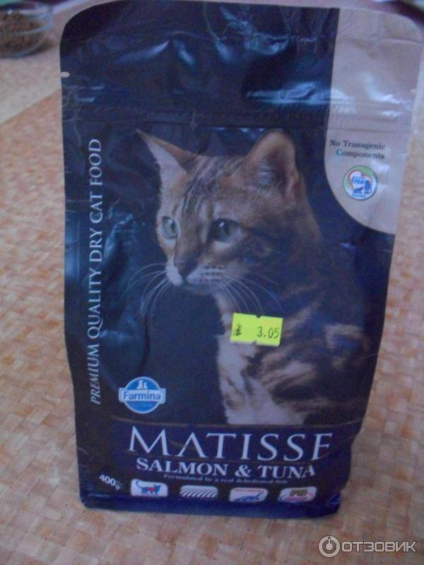 Обзор корма для кошек matisse
