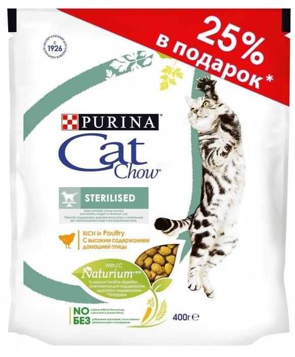 Корм для кошек кэт чау (cat chow): обзор, виды, состав, отзывы