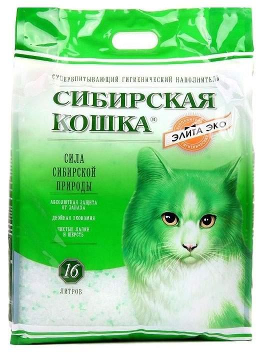 Наполнитель для кошачьего туалета «сибирская кошка»