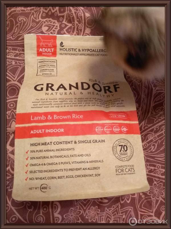 Корм «грандорф» для кошек и собак: описание и отзывы