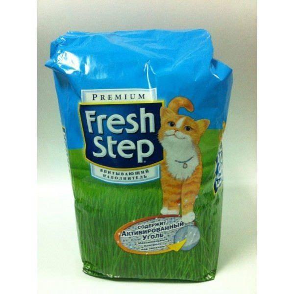 Фреш степ наполнитель для кошачьего туалета какой лучше