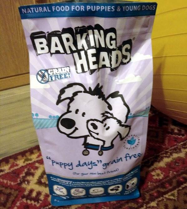 Корм barking heads для кошек обзор