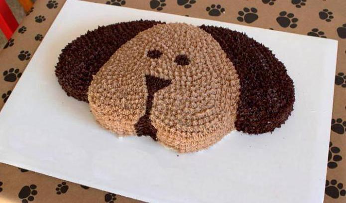Торт в виде собаки (рецепт приготовления с пошаговыми фото)