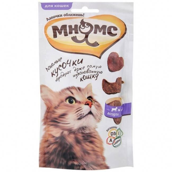 Лакомства для кошек dreamies - kot-pes