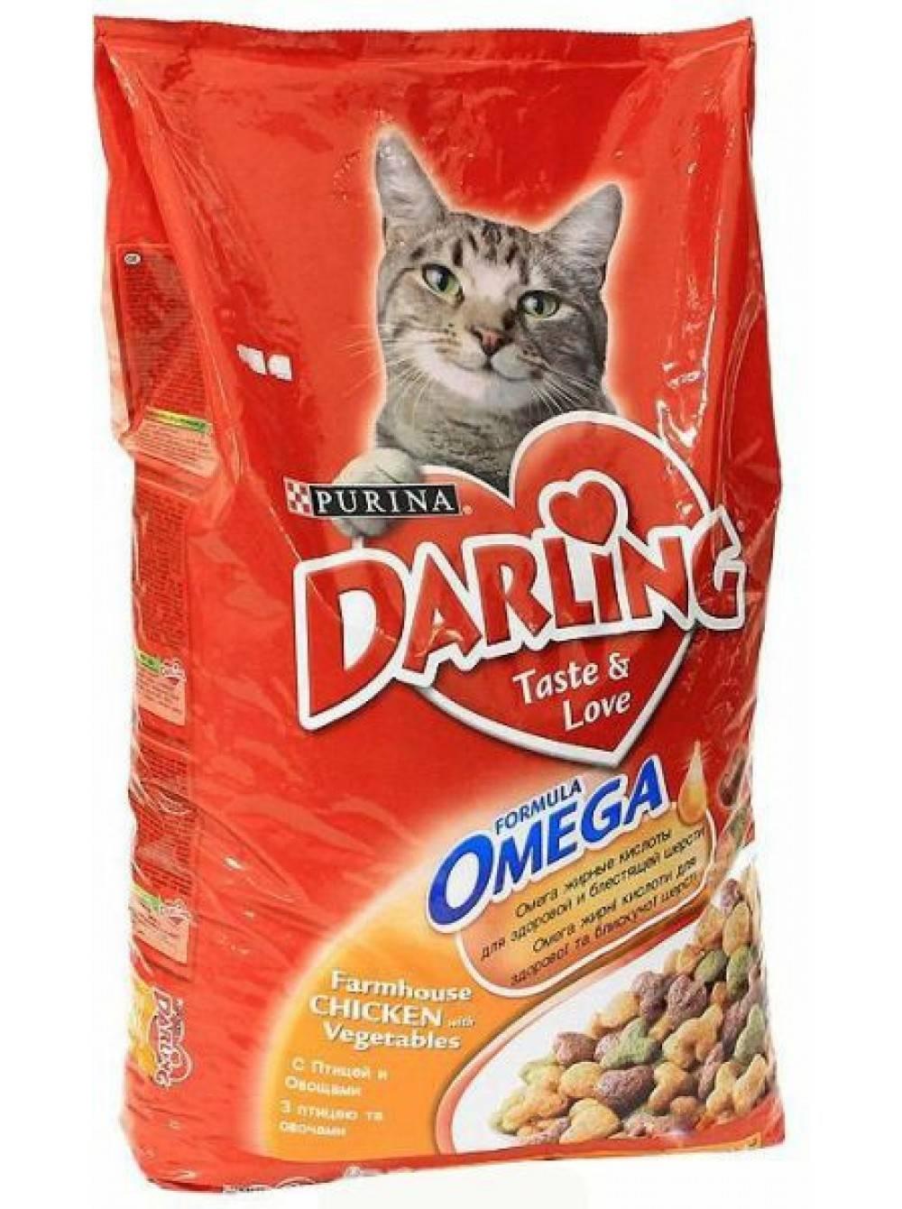 Корм дарлинг для кошек