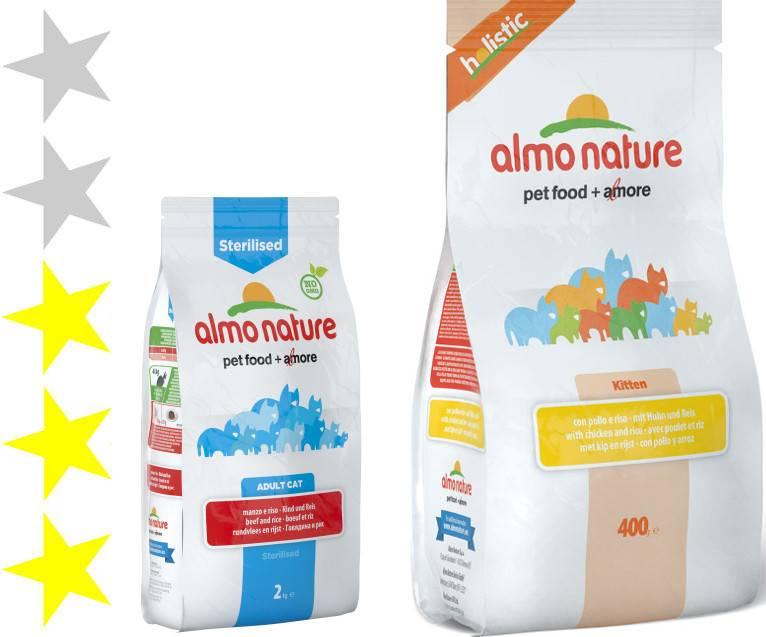 Корм для кошек альмо натюр (аlmo nature) - отзывы и советы ветеринаров