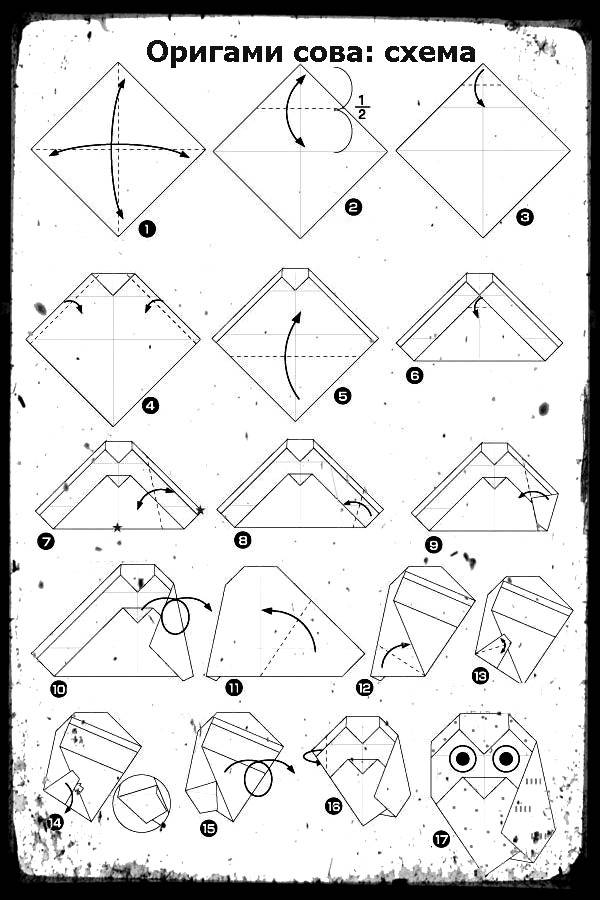 Модульное оригами самолет. схема сборки. пошаговая инструкция с фото