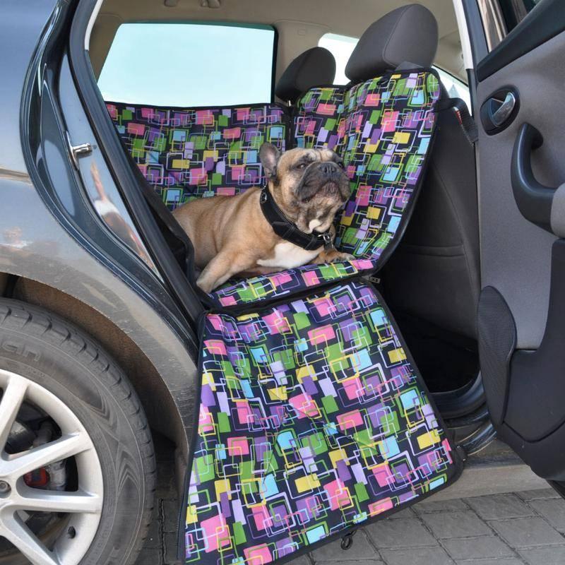 Гамак для собак в машину для перевозки — сделать своими руками