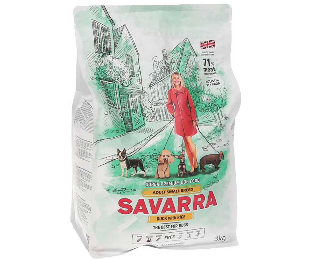 Корм для кошек savarra adult cat lamb & rice