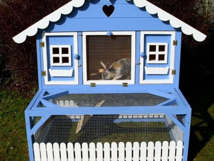 Домик для кролика своими руками в домашних условиях