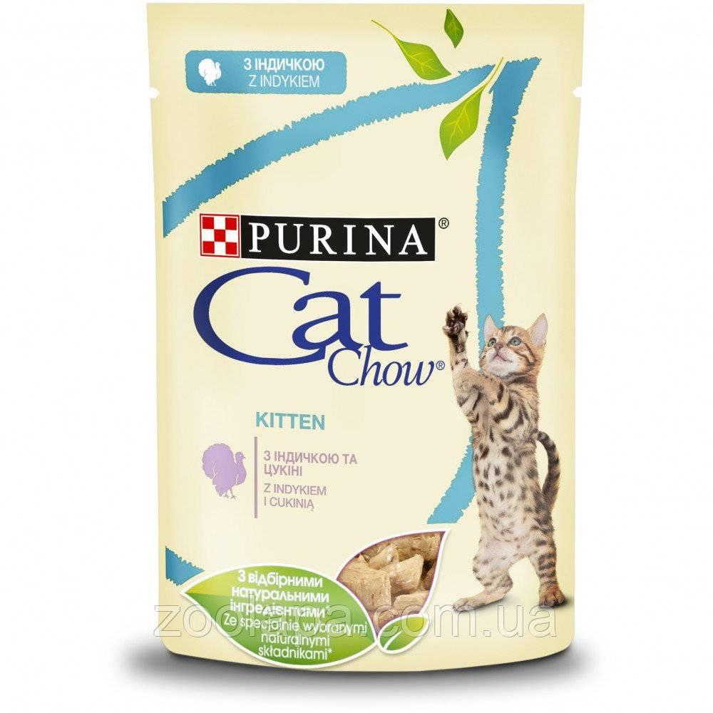 Кэт чау для кошек — разбор состава корма и отзыв ветеринара