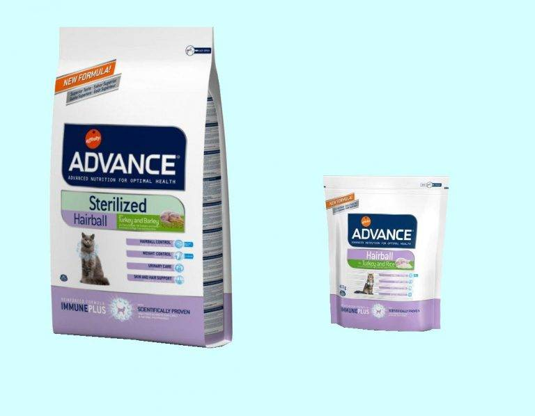 Affinity advance adult cat sterilized with turkey and barley