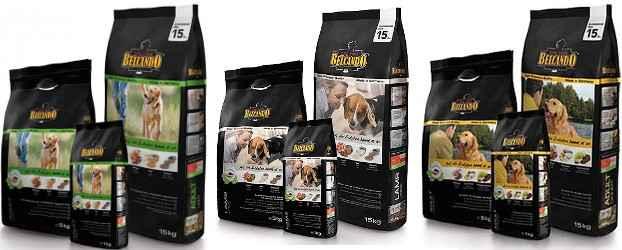 Корм для собак «белькандо» — консервы, сухой и для щенков мелких пород
