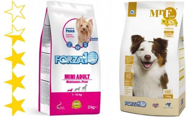 Корм для собак forza-10: отзывы и обзор состава