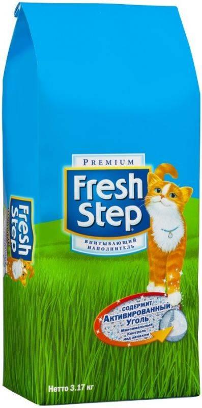 «фреш степ» - наполнитель для кошачьего туалета: особенности, состав и отзывы fresh step
