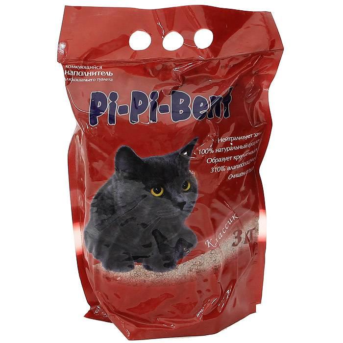 Пи пи бент - лучший наполнитель для кошачьего туалета