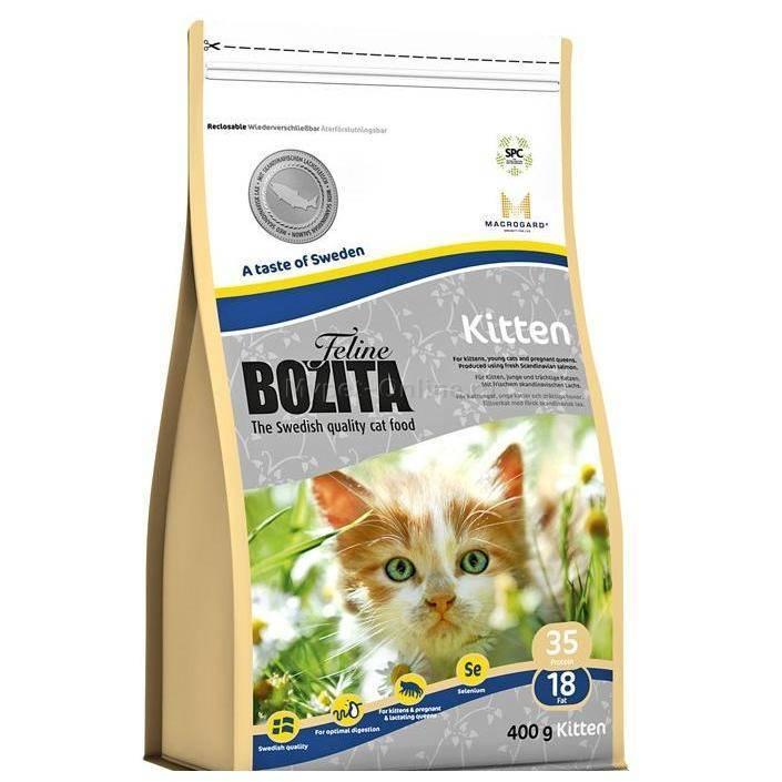 Корм для кошек bozita: отзывы, разбор состава, цена - петобзор