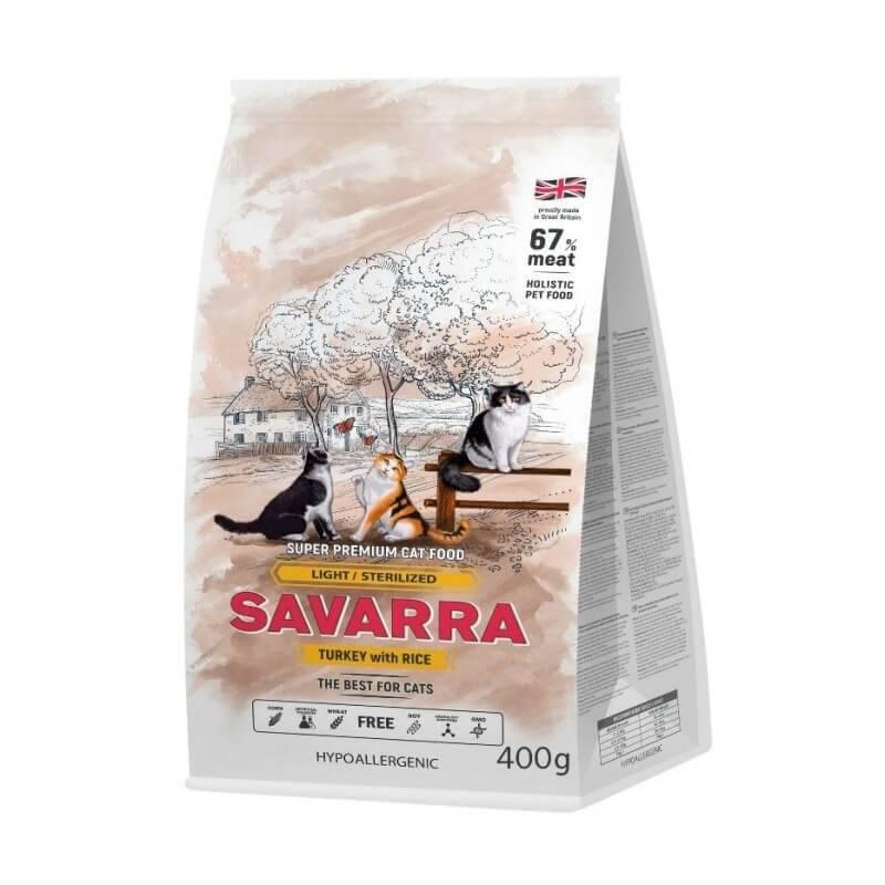 Корм для кошек savarra: отзывы, разбор состава, цена - петобзор