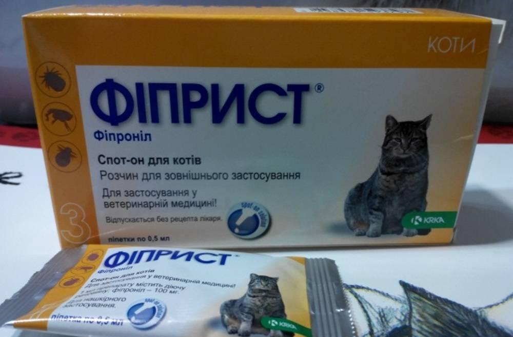 Капли для кошек, хорьков krka фиприст комбо от клещей и усиленным действием против блох 0,5мл, 1 пипетка (капли) - цена, купить онлайн в санкт-петербурге, интернет-магазин зоотоваров - все аптеки