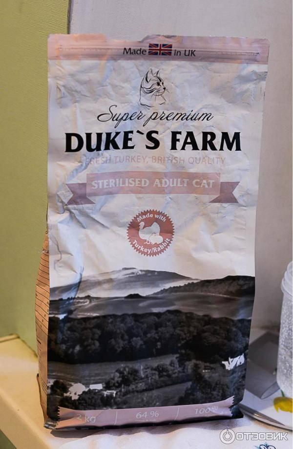 Корм для котят duke's farm kitten fresh duck