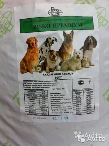 Корма для собак bisko (биско)