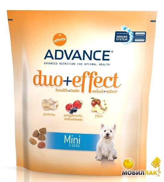 Корм для собак адванс (advance)