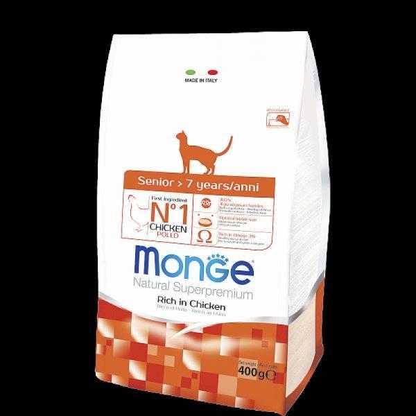 Корм для кошек monge — плюсы и минусы