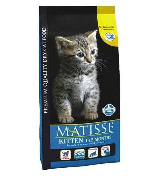 Корм для кошек matisse: отзывы, разбор состава, цена