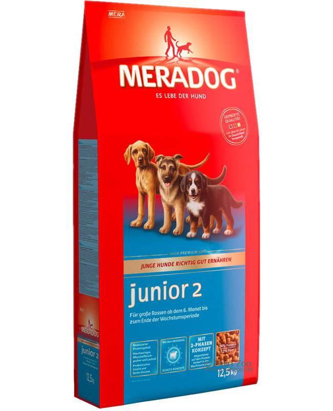 Корм mera для собак