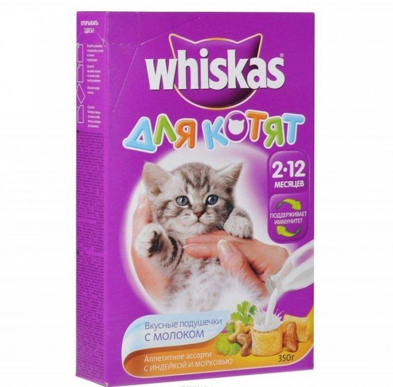 Состав корма вискас для котят и отзывы ветеринаров