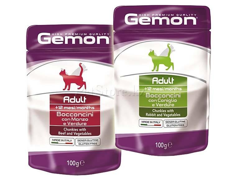 Gemon корм для кошек: отзывы, где купить, состав