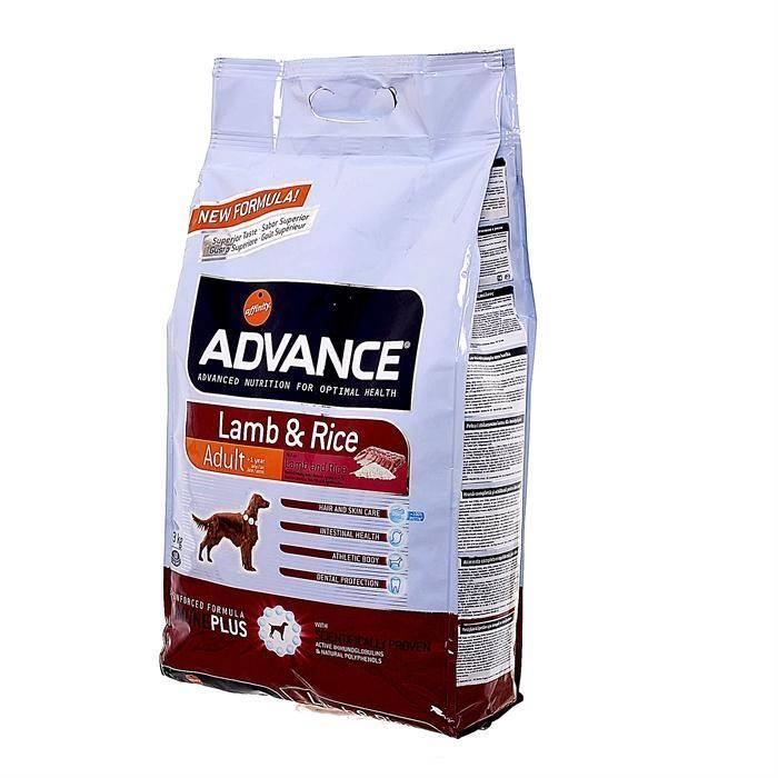 Корм для собак advance (адванс) - описание, ингредиенты, отзывы