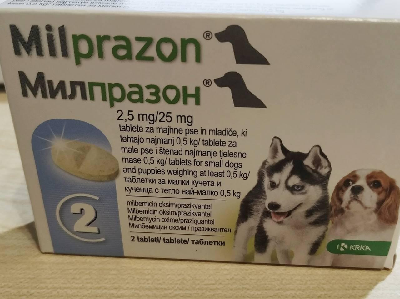 Милпразон таблетки для кошек более 2 кг - купить, цена и аналоги, инструкция по применению, отзывы в интернет ветаптеке добропесик