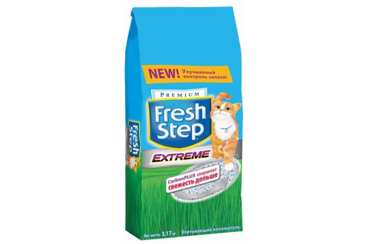 Fresh step – наполнитель для кошачьего лотка: описание продукта