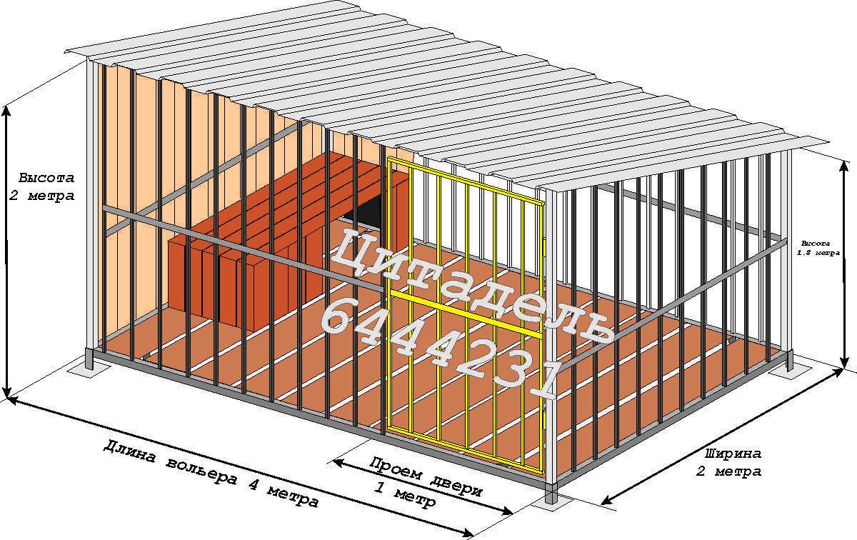 Вольер для собаки 180 лучших идей для частного дома. инструкция по строительству вольера своими руками