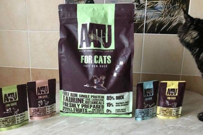 Сухой корм ааtu для кошек