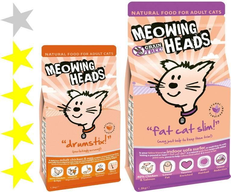 Корм для кошек meowing heads: отзывы и разбор состава - петобзор