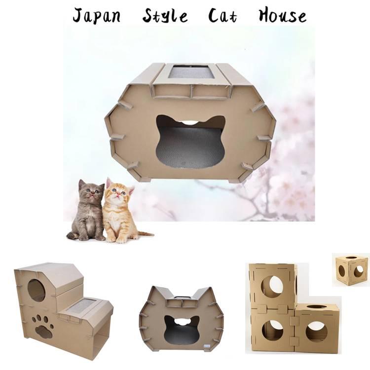 Домик для кошки своими руками из коробки: чертежи и размеры, пошаговая инструкция
