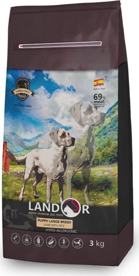 Корм landor для собак