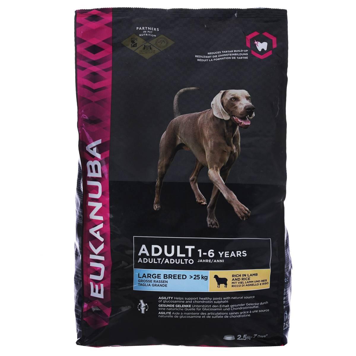 Корм для собак eukanuba: страна производитель, состав корма эукануба, отзывы ветеринаров