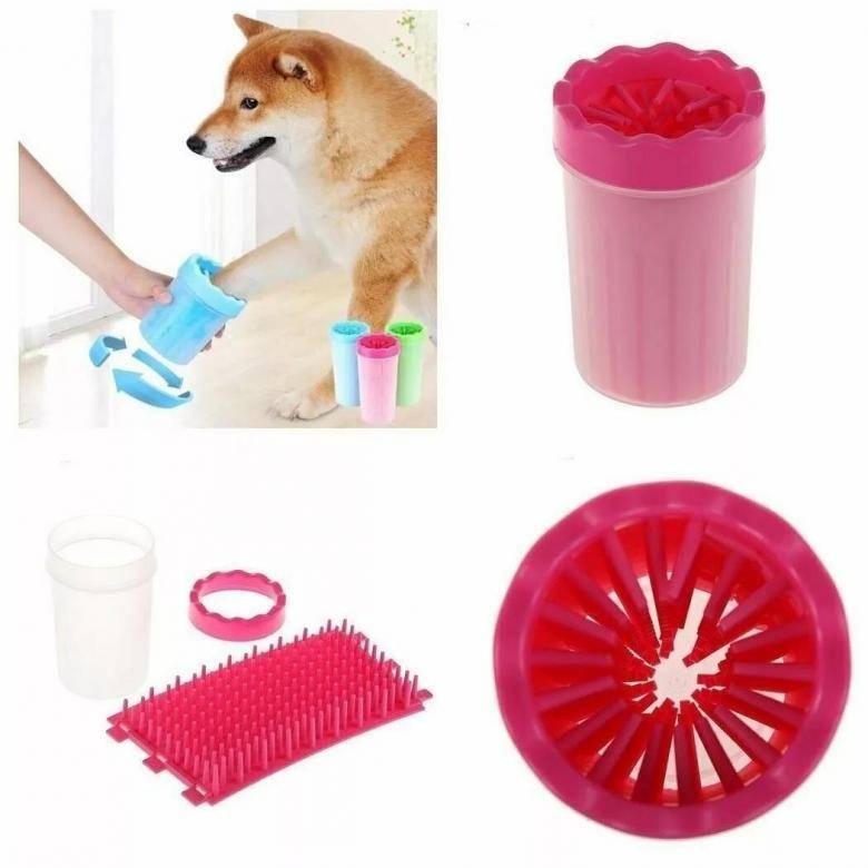 Устройство для мытья лап собакам: польза и недостатки