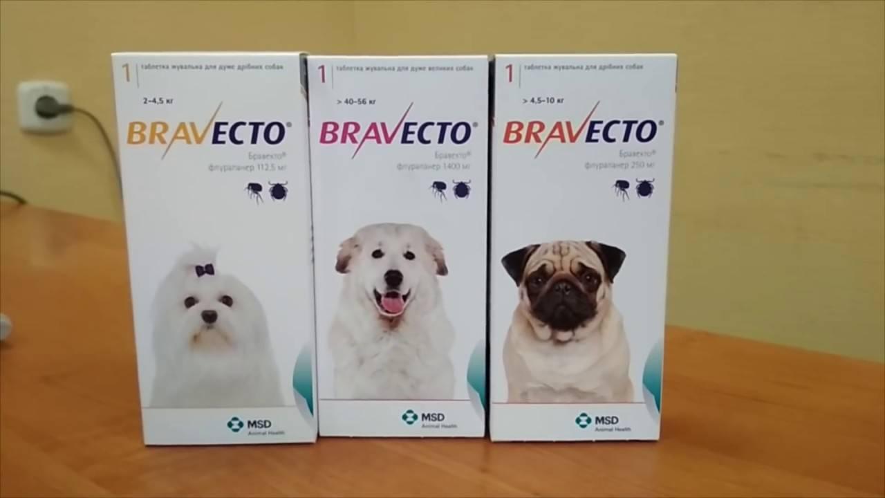Бравекто (bravecto, флураланер), против блох и клещей